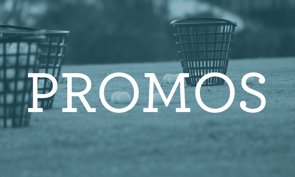 Golf the Round specials promos